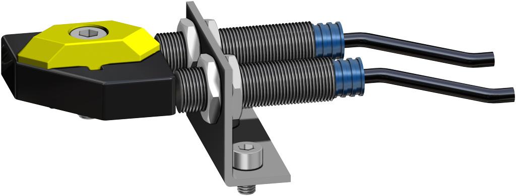 Doppeltwirkender pneumatischer Stellantrieb GD aus Aluminium - zubehör - NÄHERUNGSSCHALTER