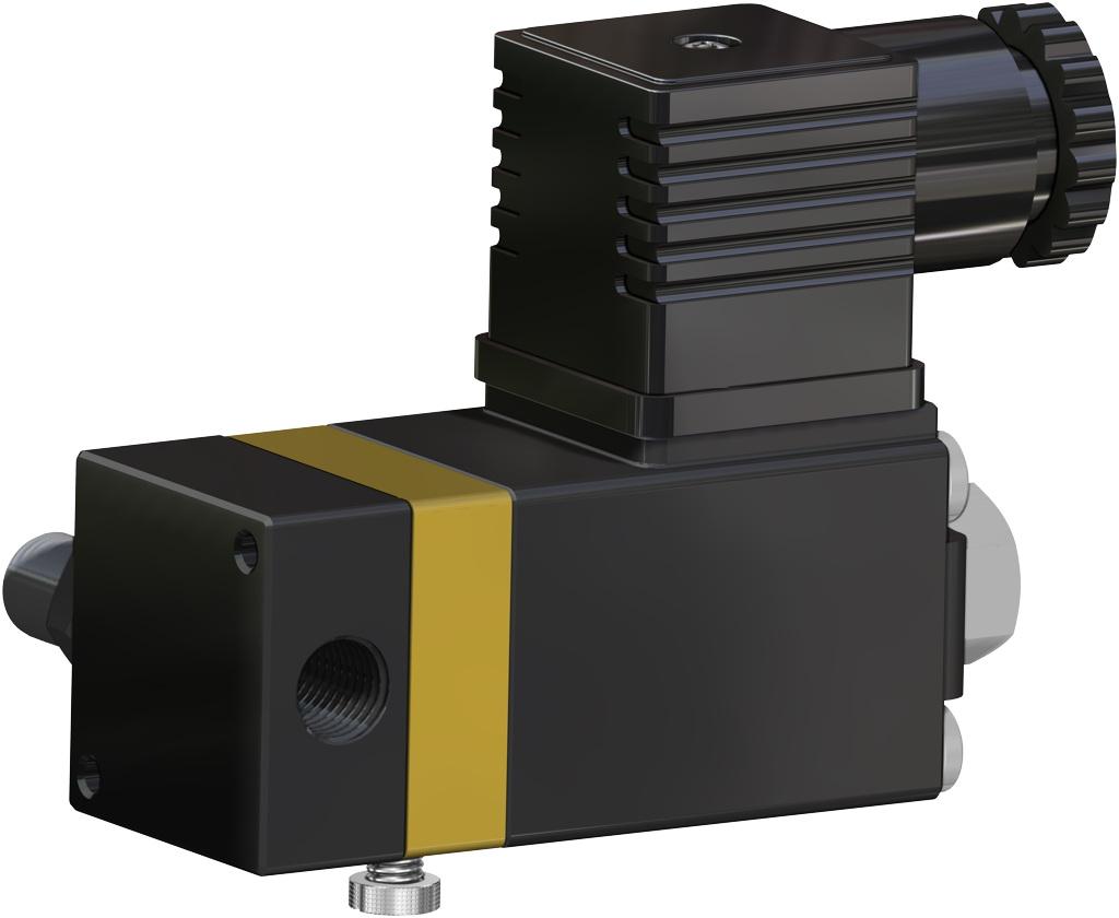 Einfachwirkender pneumatischer Stellantrieb GS 40 PSI ÷ 2,8 bar - zubehör - MAGNETVENTILE