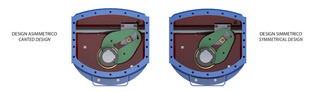 Einfachwirkender pneumatischer Stellantrieb GS Heavy Duty Carbonstahl - merkmale -