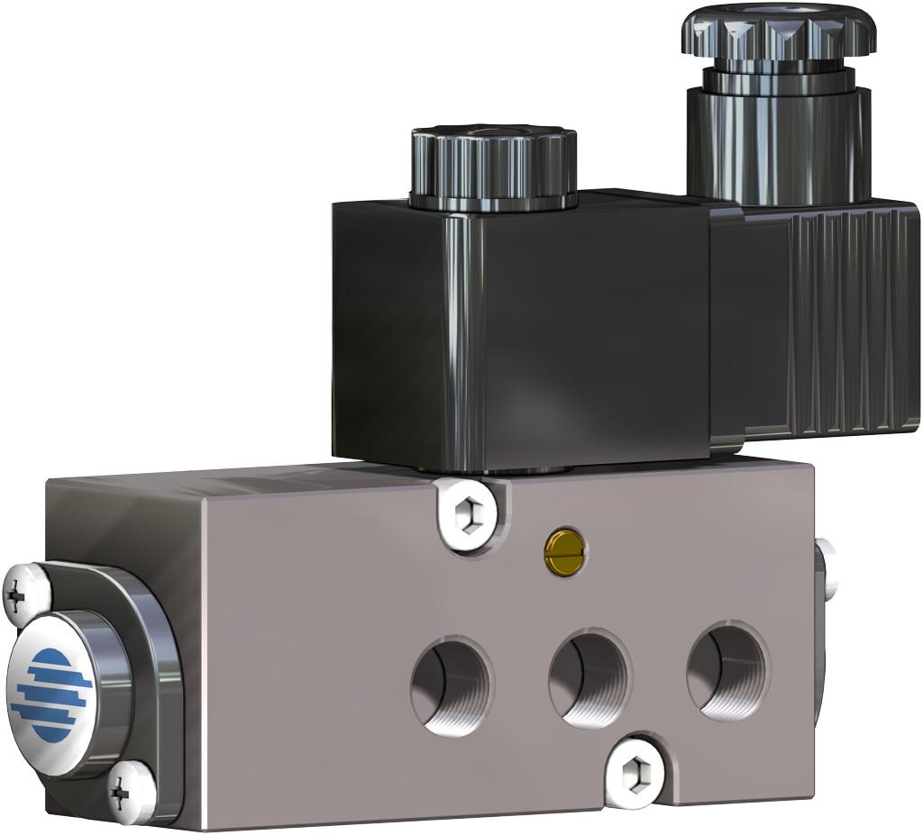 Einfachwirkender pneumatischer Stellantrieb GS 40 PSI ÷ 2,8 bar - zubehör - MAGNETVENTILE NAMUR