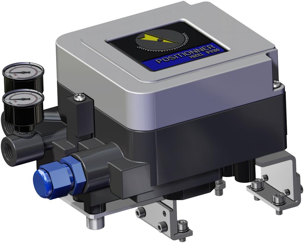 Einfachwirkender pneumatischer Stellantrieb GS 40 PSI ÷ 2,8 bar - zubehör - ELEKTROPNEUMATISCHER STELLUNGSREGLER (EIGENSICHERHEIT)